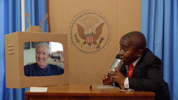 """Kid President Made an Episode About Identity"" featuring Pete Carroll (Super Bowl Champion Coach of the Seattle Seahawks). Sat, Aug. 2 at 7pm ET/4pm P"