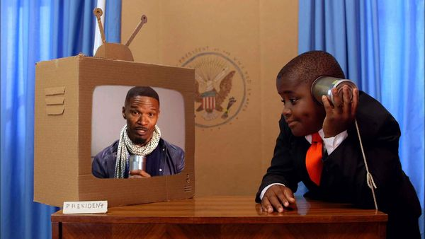 """""""Kid President Makes an Episode about Making Every Day a Holiday!"""" - Oscar-winning Actor Jaime Foxx and Kid President"""