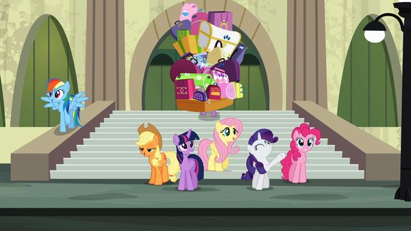 """Rarity Takes Manehattan"""