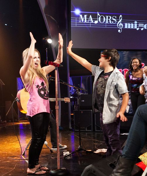 Majors & Minors guest mentor Avril Lavigne