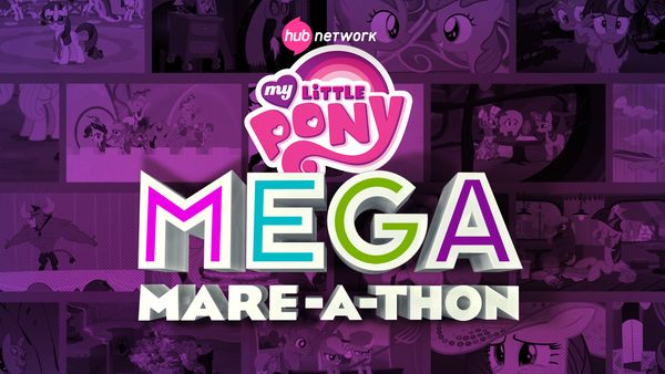 My Little Pony Mega Mare-athon logo