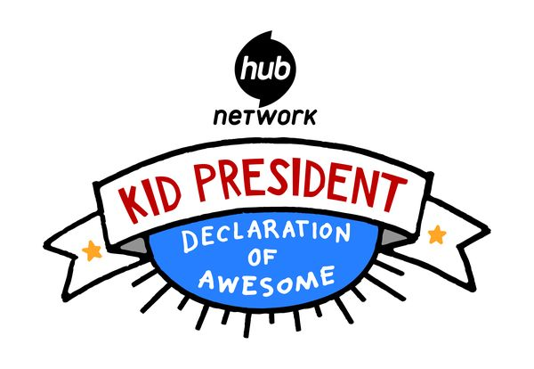 Kid President®: Declaration of Awesome Series Logo