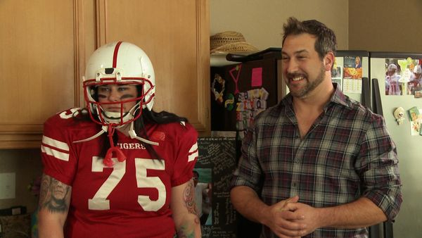 """The Touchdown Maker and Cupcake Baker"" premiering Sat, Aug. 23 at 7 p.m. ET/4 p.m. PT"