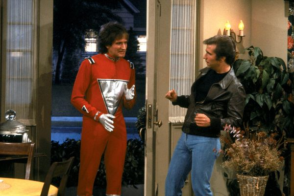Guest appearance by actor/comedian, Robin Williams