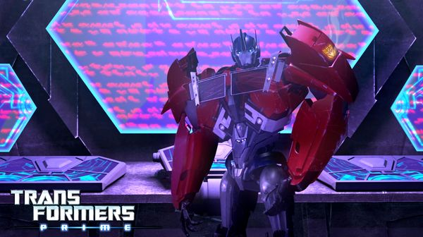 """""""Orion Pax - Part 1"""" from """"Transformers Prime"""" (Season 2)"""