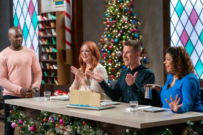 Christmas Cookie Challenge Programs Food Network Discovery