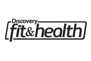Discovery Fit and Health logo - b&w