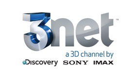 3net Network Logo - White