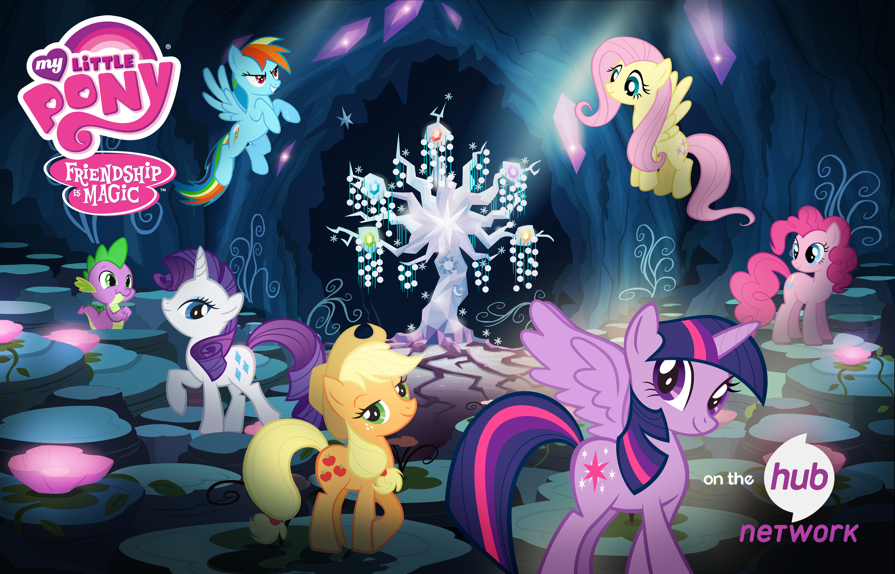 my little pony friendship is magic programs the hub network